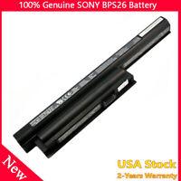 Genuine Original Sony Vaio VPCEH16EC VGP-BPS26A Battery 11.1V 5300mAh 59Wh BPS26