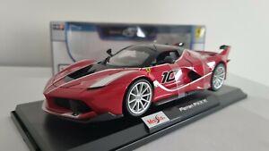 Maisto Ferrari LaFerrari FKK-K Diecast Model 1:18 Special Edition Red Sports Car