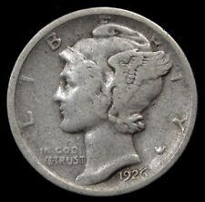 1926-D US Mercury Dime Nice Coin 90% Silver(K 1535)