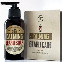 Calming Beard Soap -100% Natural & Organic Beard Wash for Men