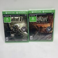 Fallout 3 Game of the Year & New Vegas Ultimate Edition Xbox One / SEALED