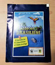 "WWF Edeka  ""Entdecke Brasilien"" 40 Päckchen - Sammelsticker/Sammelkarten OVP"