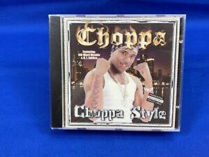 *SEALED* CHOPPA   Choppa Style   Darwin Turner Explicit Gangsta Rap CD 2001 RARE