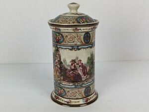 Antiche Riproduzioni Italy Repo Porcelain Ginger Jar? with Lid