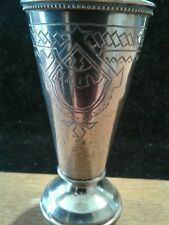 Russian solid sterling silver Becher-Kiddush 1895