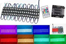 LEDUPDATES 60ft STOREFRONT MULTI COLOR RGB LED LIGHT UL Power & WIRELESS REMOTE