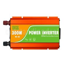 12V/24V 300W High Frequency Off Grid Car Pure Sine Wave Power Inverter DC to AC#