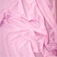 """PINK - 64"""" Wide 100% Cotton Jersey Fabric Sold Per Metre Super Soft Fabric!"""