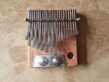 Africano kalimba Dzavadzimu Mbira Pulgar piano eléctrico