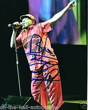 JIMMY CLIFF REGGAE LEGEND HAND SIGNED AUTOGRAPHED LIVE PHOTO! RARE! WITH PROOF!