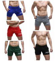 SEOBEAN New Men's sports shorts casual summer beach Small boxer cotton shorts