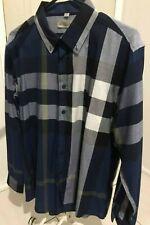 Burberry Men's Cotton Poplin Casual Long Sleeve Shirt