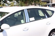 TOYOTA PRIUS V 2012 - 2015 TFP CHROME STAINLESS STEEL PILLAR POST COVER SET