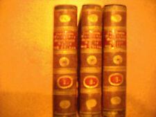 Des Grafen Macartney Gesandschaftsreise nach China - George Staunton; 1798, 3 Bd