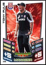 Tony Pulis Stoke City #236 Topps Match Attax Football 2012-13 Trade Card (C440)