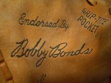 Wow! Vintage Wilson Bobby Bonds Lefty Baseball Glove #A2612, Ex Plus, Lqqk!