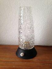 SUPERBE  Lampe de chevet  Vintage NOIRE   An 50's