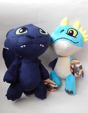 "How to Train Your Dragon 2 Plush Krokmou & Nadder Jouet Doux 12"""