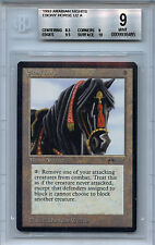 MTG Arabian Nights Ebony Horse BGS 9.0 (9) Mint Card Magic WOTC 6485