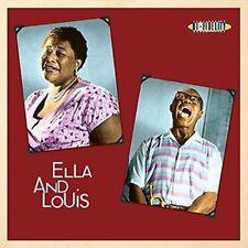 "Ella Fitzgerald & Louis Armstrong. 180g 12"" Vinyl LP Album. Not Now Catlp121"