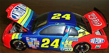 1998 Jeff Gordon #24 DuPont Platinum Ser. 1:24 Ltd. Ed. Signed Diecast Coin Bank