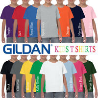 Gildan HEAVY Cotton Plain Childrens T Shirt Wholesale Supplier Boys T-Shirt