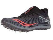 Saucony Women's Havok XC2 Athletic Shoe, Black/Grey/ViziRed, 9.5 M US
