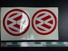 VW Volkswagen NEW BEETLE red Repair Emblem Epoxy Sticker Resist to mech. shocks