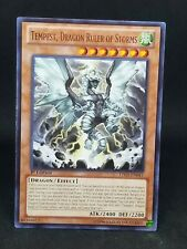 Dragon Ruler of Storms NM Rare Tempest LTGY-EN041
