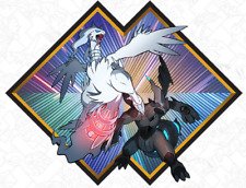 Target EXCLUSIVE Reshiram & Zekrom Pokemon Event Code Sun&Moon USUM