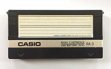 CASIO RA-3 VOICE DATA RAM CARTRIDGE For CZ-101, 1000, 3000, 5000 Synthesizer