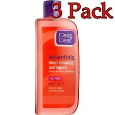 Clean & Clear Deep Cleaning Astringent, Oil Free, 8oz, 3 Pack 381370033677S358
