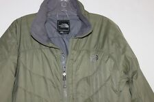 North Face EUC Women's XL Olive Green Ski Jacket w/ Primaloft Insulation Worn 2x