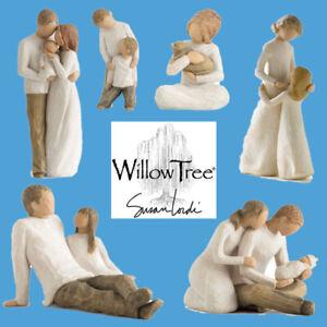 Full Range of Willow Tree Relationship Family Children Mother Figure Ornaments