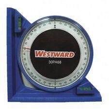 WESTWARD 30PA68 Angle Finder,90 deg.,5 in.,Blue
