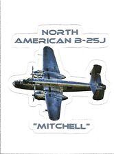 B-25 MITCHELL AIRPLANE  Sticker Decal