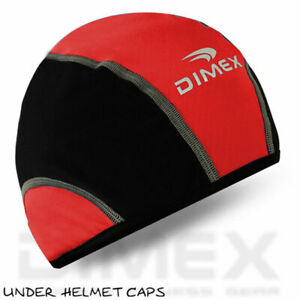 Cycling Skull Cap Cycle Motorbike Under Helmet Windstopper Thermal Hat One Size