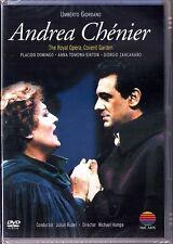 DVD GIORDANO: ANDREA CHENIER Placido DOMINGO Anna TOMOWA-SINTOW Zancanaro RUDEL