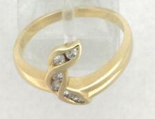Anelli con diamanti j Misura anello 6