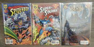 Amalgam DC Marvel Comic Books Lot of 12 #1s