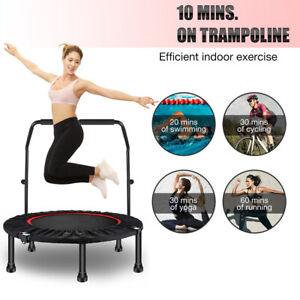 "48"" Trampoline Efficient Exercise Bungee Rebounder Jumper with Adjustable Handle"