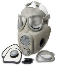1974 Czech M10M Military Army Cold War Gas Mask w/ Filters Straw Carry Bag - NEW