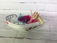 Mattel 2009 Polly Pocket Tropical Splash Adventure Boat  NEW IN BOX