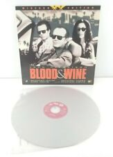 Blood and Wine Laserdisc LD Widescreen Edition Jack Nicholson