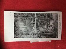 m2n ephemera 1880s picture duffield baby railway trestle bridge