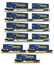 Fleischmann N 825017 - 7-tlg. Display: LKW Walter, AAE   Neuware
