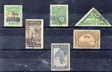 Liberia Valores del año 1909-28 (CY-784)