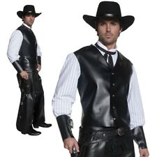 Adulte Occidental Bandit Armé Cowboy Sheriff Costume de Déguisement