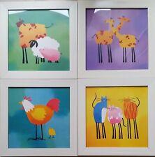 Quattro Kariert für Kinder - Pixel Ikea - Thema Tiere - Größe 30x30