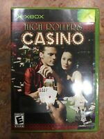 High Rollers Casino (Microsoft Xbox, 2004) NEW (Safety Seal intact)